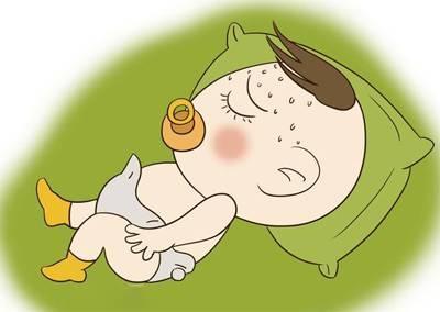 宝宝睡觉爱出汗查清原因才好对症治疗