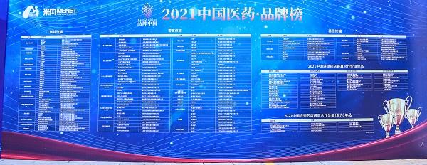 2021年中国医药·品牌榜隆重发布 好医生康复新液揽两项大奖!